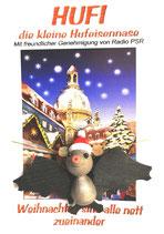 Hufi - Weihnachtshufi fliegend
