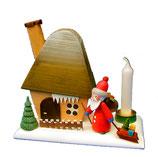 Räucherhaus mit Weihnachtsmann