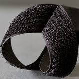 Flauschband 50mm Schwarz