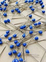 Polsterstecknadeln Blau