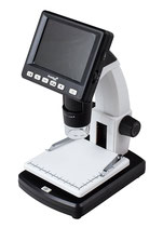 500 LCD Digital Microscope USB connectable portable with LCD display 20-500x 5Mpix digital camera