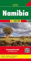 Straßenkarte Namibia, Autokarte 1:1 Mio.