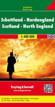Straßenkarte 1:400.000 Schottland – Nordengland