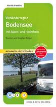 Vierländerregion Bodensee mit Alpen- und Hochrhein Mängelexemplar