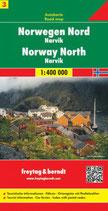 Straßenkarte 1:400.000 Norwegen Nord – Narvik