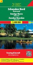 Straßenkarte 1:400.000 Schweden Nord – Östersund