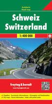 Straßenkarte Schweiz 1:400.000
