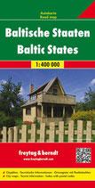 Straßenkarte 1:400.000 Baltische Staaten