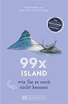 Bruckmann Reiseführer: 99 Mal Island, wie Sie es noch nicht kennen