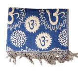 Couverture Yack : Fleur bleu foncé