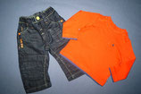 Next Jeanshose + Mothercare Shirt Gr. 74