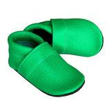Krabbelschuh - grasgrün