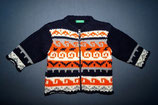 Benetton Strickjacke Gr. 62