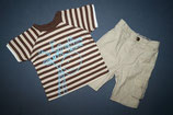 M&Co Shirt + Rocha little Rocha Hose Gr. 74