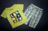 Converse Shirt + Bakkaboe Shorthose Gr. 74-80