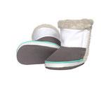 Baby Boots - beige/weiss