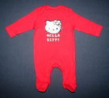 F&F Hello Kitty Pyjama/Strampler Gr. 56