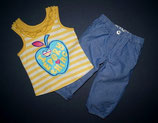 Benetton Sommerhose + George Top Gr. 74-80