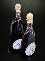 dunkler Blaubeer Rotwein Likör