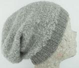Mütze Beanie silber / Cap  beanie silver