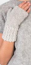 ALPAKA STULPEN WELLEN  / Gloves without fingers wave