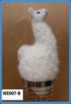 """Eierwärmer """"Alpaquita"""" weiß / Eggwarmer """"Alpaquita"""" white"""