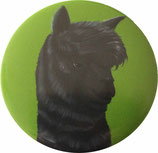 Alpaka-Pin Button exklusives Design von GOUVEIARTS / Alpaka-Pin Button exclusive designed by GOUVEIARTS