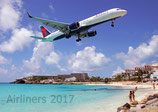 Airliners 2017 Wallcalendar DIN A3