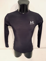 Under Armour Long Sleeve Compression Top - Black