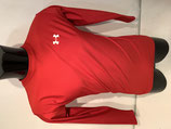 Under Armour ColdGear Compression Long Sleeve Top - Red