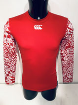 Canterbury Baselayer Cold Gear- Red