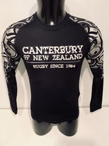 Canterbury Baselayer Cold Gear - Black Patterned