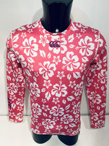 Canterbury Baselayer Cold Gear - Pink Patterned
