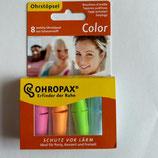 Ohropax Color | Ohrstöpsel - Set | Universal Gehörschutz zum Schlafen, für Party + Freizeit  | 4 Paar | 35 dB