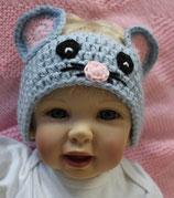 Stirnband Maus, Grösse 2 - 6 Monate