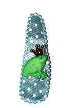 Haarspange Froschkönig