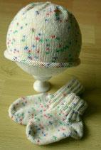 Babyset Mütze, Socken