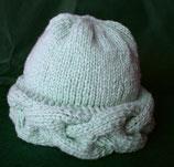 Mütze Zopf Kaschmir