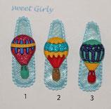 Kinder Haarspange Heissluftballon