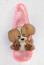 Haarspange Hundewelpen, 5,5 cm