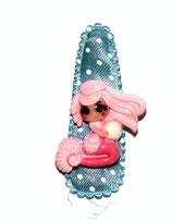 Haarspange  Meerjungfrau