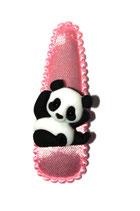 Haarspange Panda