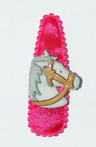 Haarspange Pferd, 5,5 cm