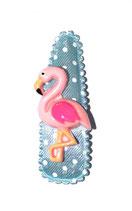 Haarspange Flamingo