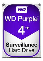 WD Purple Surveillance Hard Drive WD40PURZ - Disco duro - 4 TB para sistemas de vigilancia CCTV