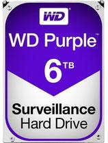 WD Purple Surveillance Hard Drive WD60PURZ - Disco duro - 6 TB- para sistemas de vigilancia CCTV