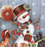 X'mas4中 X07 303750 Snowman with Broomstick