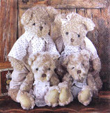 SI中4 F71 DL-13308750 Family Teddy Bear