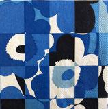 Marimekko中 M302 Ma-589040 Mini-Ruutu UNIKKO blue