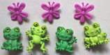 ボタン 8303 Happy Frogs